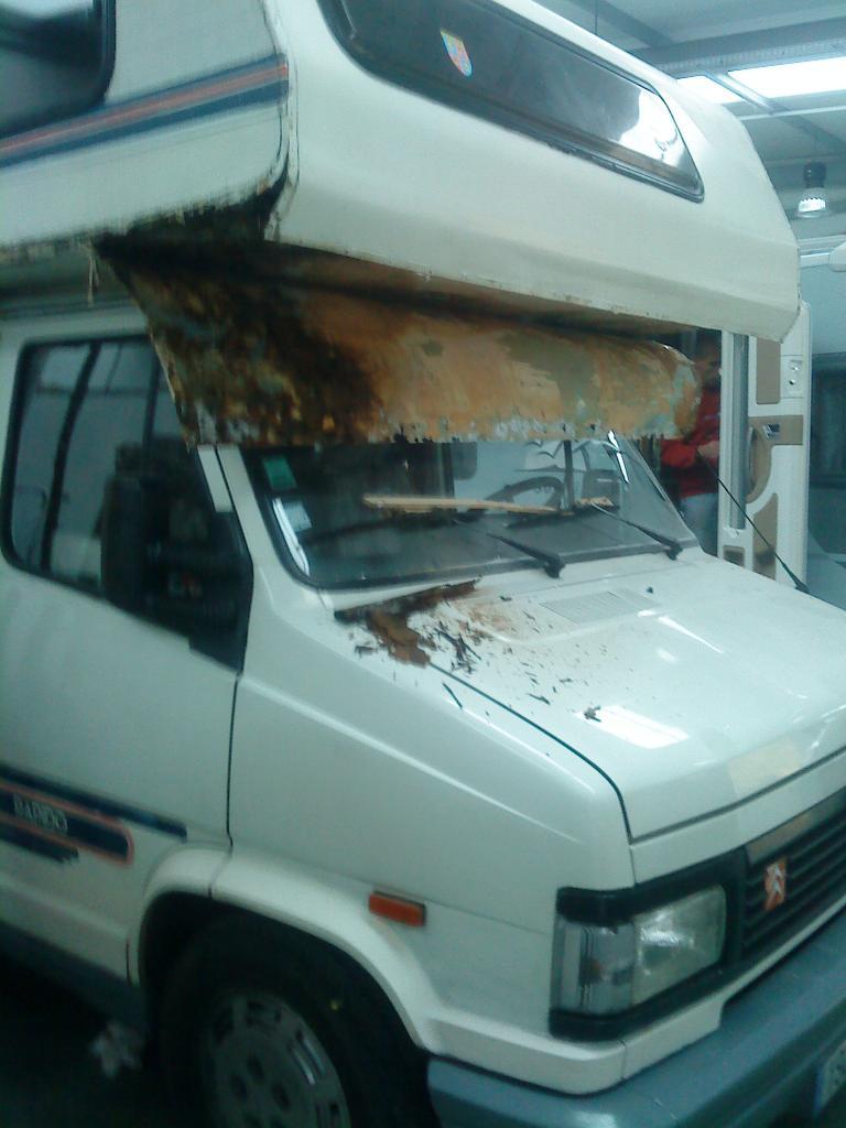 32 - Renovation interieur camping car ...